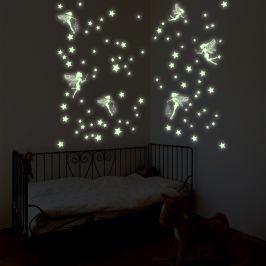 Walplus Samolepky na stenu, víly a hviezdičky