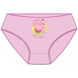 E plus M Dievčenské nohavičky Peppa Pig - ružové