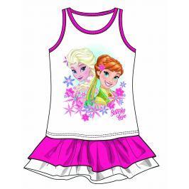 Disney by Arnetta Dievčenské šaty Frozen - ružové