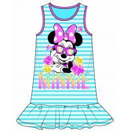 Disney by Arnetta Dievčenské šaty Minnie - modré