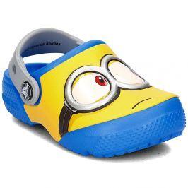 Crocs Chlapčenské sandále FunLab Mimoni - modro-žlté