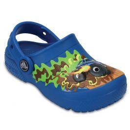 Crocs Chlapčenské sandále FunLab Monstertruck - modré