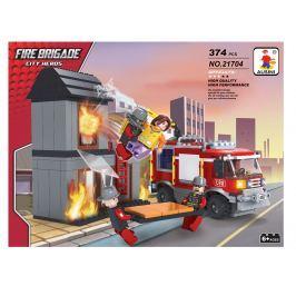 Rappa Stavebnica Ausin hasiči - horiaci dom 374 dielov