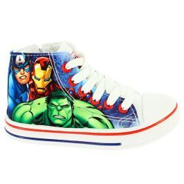 Disney by Arnetta Chlapčenské členkové tenisky Avengers - farebné