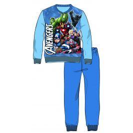 Disney by Arnetta Chlapčenské pyžamo Avengers - svetlo modré