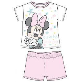 Disney by Arnetta Dievčenské pyžamo Minnie - ružové