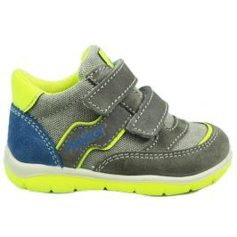 Primigi Chlapčenské členkové topánky - šedo-zelené