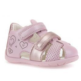 Geox Dievčenské sandále Kaytan - ružové