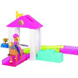 MATTEL Barbie mini Závodisko herná súprava