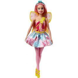 MATTEL Barbie víla svetlo ružová