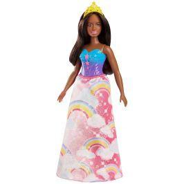 MATTEL Barbie princezná - žltá čelenka