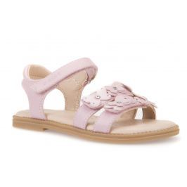 Geox Dievčenské remienkové sandále Karly - ružové