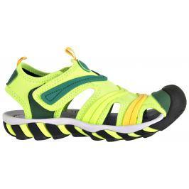 ALPINE PRO Chlapčenské sandále Jordan - zelené