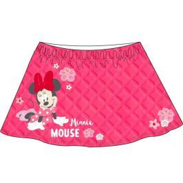E plus M Dievčenská sukňa Minnie - červená