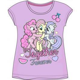 E plus M Dievčenské tričko My Little Pony - fialové