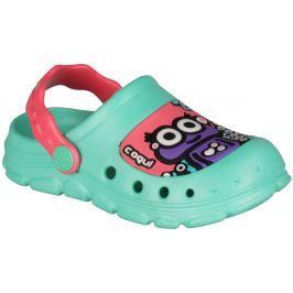 Coqui Dievčenské sandále Stoney - mentolové