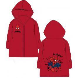 E plus M Chlapčenská pláštenka Spiderman - červená