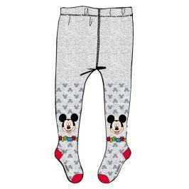 E plus M Dievčenské pančucháče Mickey Mouse - šedé