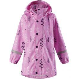 Reima Dievčenská nepremokavá bunda Vatten - svetlo ružová