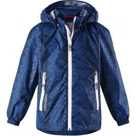 Reima Chlapčenská bunda Zigzag - tmavo modrá