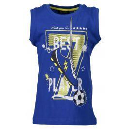 Blue Seven Chlapčenské tielko Futbal - modré