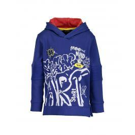 Blue Seven Chlapčenská mikina Graffiti - modrá