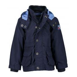 Blue Seven Chlapčenská bunda s kotvou - modrá