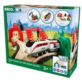 Brio WORLD SMART TECH 33873 Súprava aktívnych tunelov SMART TECH