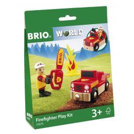 Brio WORLD BLISTER 33876 Požiarna hracia súprava