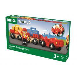 Brio WORLD BLISTER 33893 Vozík s letiskovou batožinou