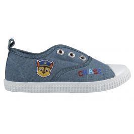 Disney Brand Chlapčenské plátené tenisky Paw Patrol - modré