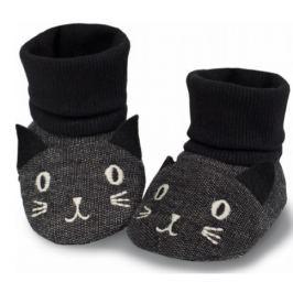 Pinokio Detské ponožky / capáčky Happy day - šedé
