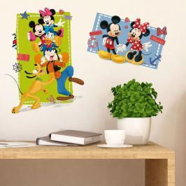 Walplus Samolepka na stenu Mickeyho klubík, 75x40 cm