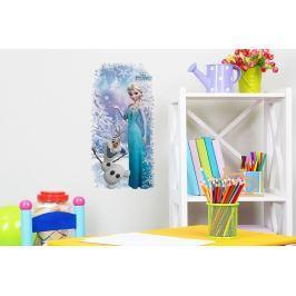 Walplus Samolepka na stenu Frozen, Elsa &  Olaf, 53x27 cm