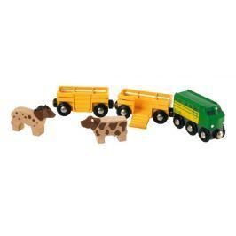 Brio Poľnohospodársky vlak pre prepravu zvierat
