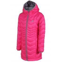 ALPINE PRO Dievčenský kabát Alanzo - ružový
