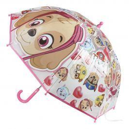 Disney Brand Dievčenský dáždnik Paw Patrol - farebný