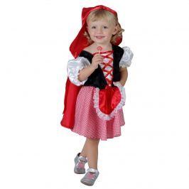 MaDe Šaty na karneval - Červená čiapočka, 92-104 cm