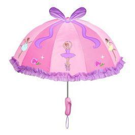 Blooming Brollies Dievčenské dáždnik s balerínou - ružový
