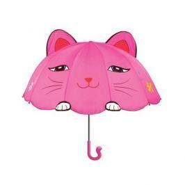 Blooming Brollies Dievčenské dáždnik s mačičkou - ružový