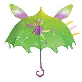 Blooming Brollies Dievčenské dáždnik s čarodejom - farebný