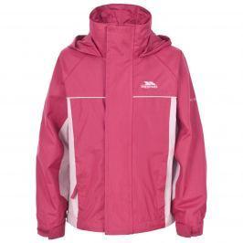 Trespass Dievčenská nepremokavá bunda Sooke - ružová