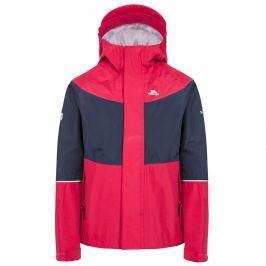 Trespass Dievčenské nepremokavá bunda Ossie - ružovo-modrá