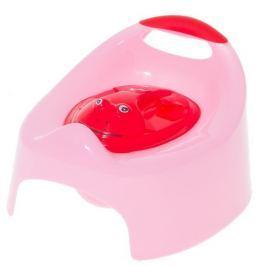 Cosing Nočník hrací s krytom Žabka - ružová