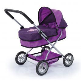 Bayer Design Fialový kočík pre bábiky Smarty