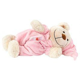 Bayer Design Mäkučký medvedík Spinkáčik ružový