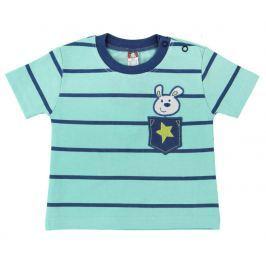 2be3 Chlapčenské tričko Raketa - mentolové