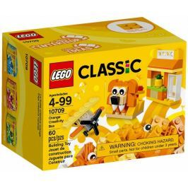 LEGO® Classic 10709 Oranžový kreatívne box