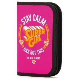 BAAGL Školský peračník Supergirl - STAY CALM