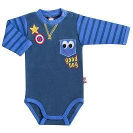 2be3 Chlapčenské body Star - tmavo modré